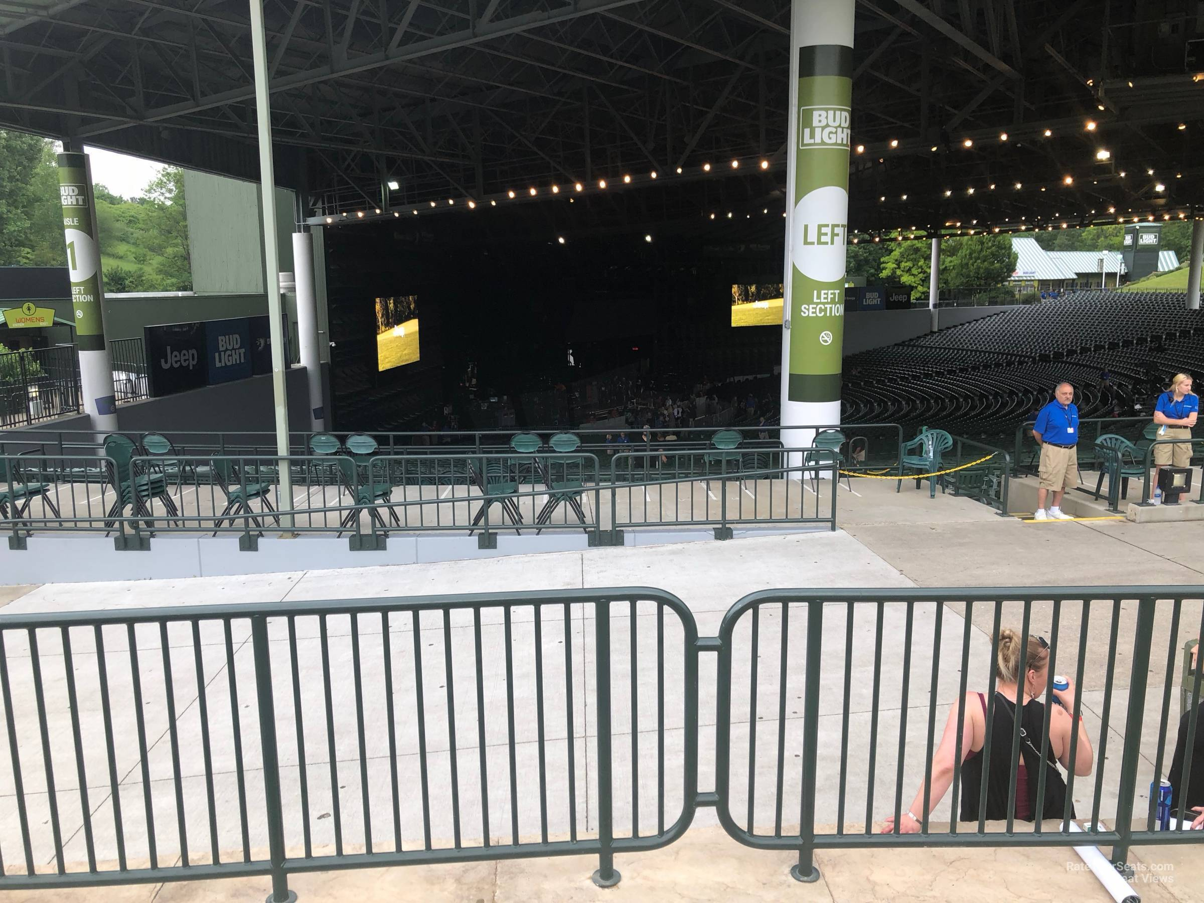 Concert Seat View For Dte Energy Music Theatre Lawn