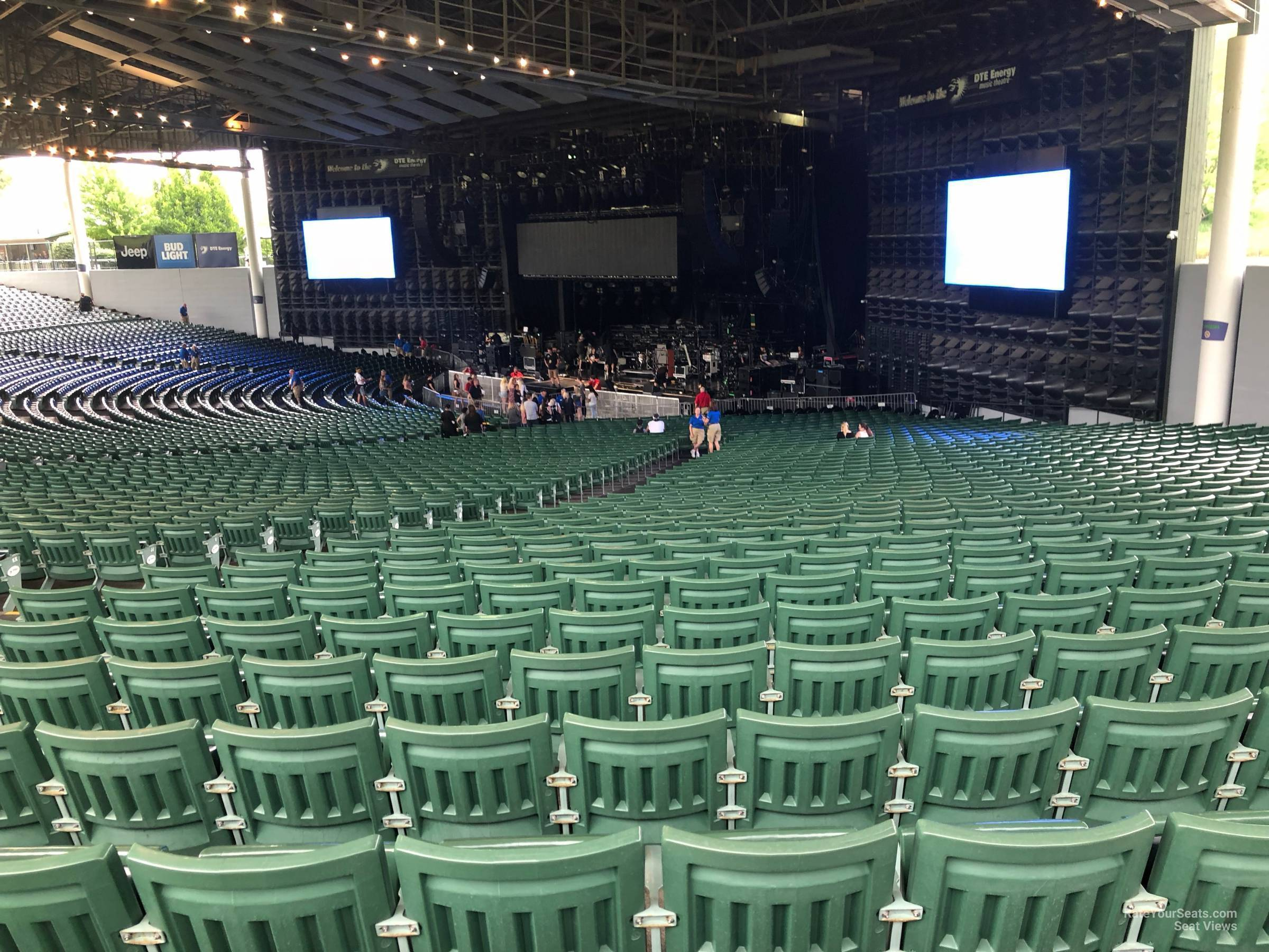 Concert Seat View For Dte Energy Music Theatre Right 10 Row Ww
