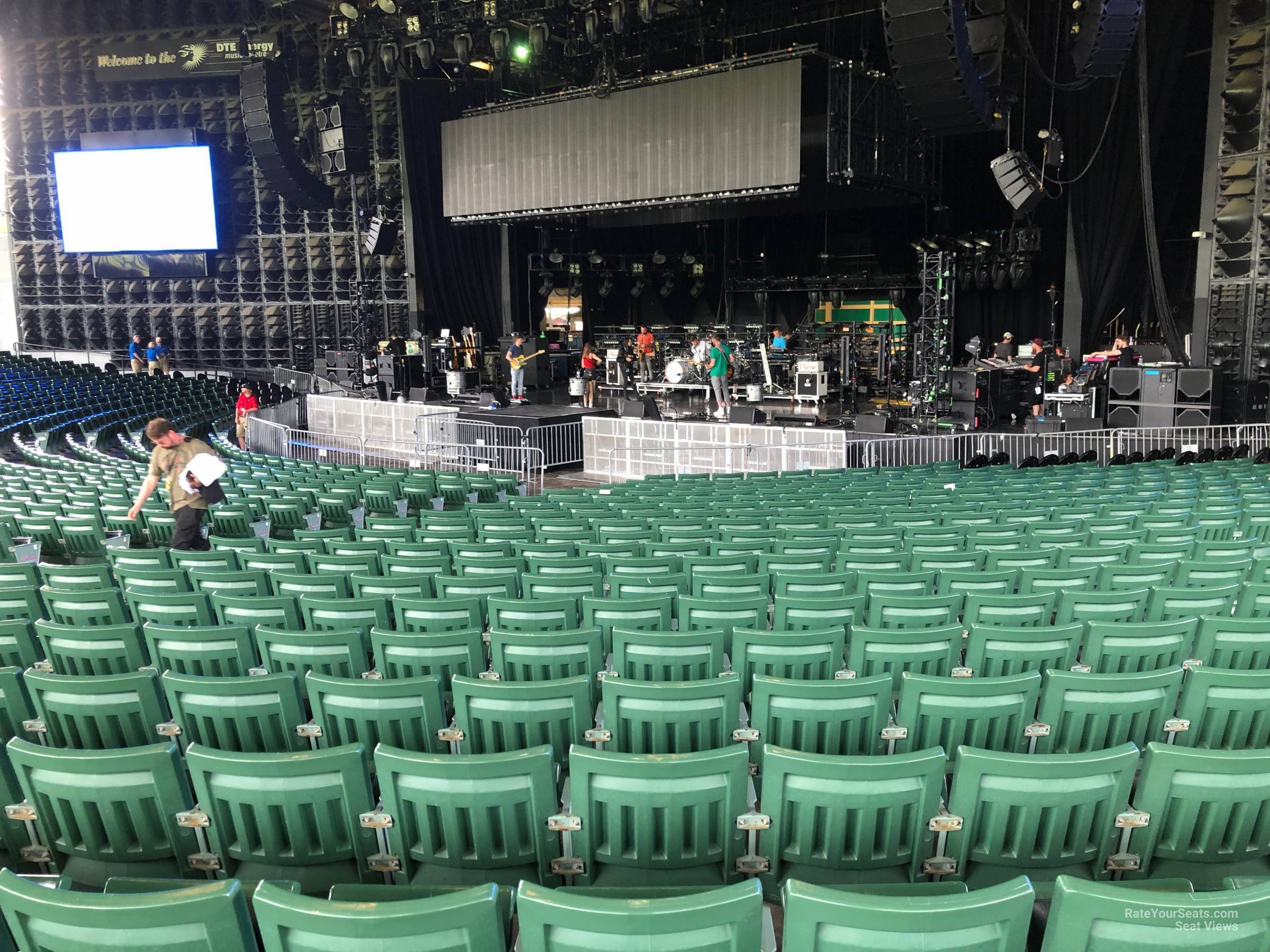 Right Center 4 seat view