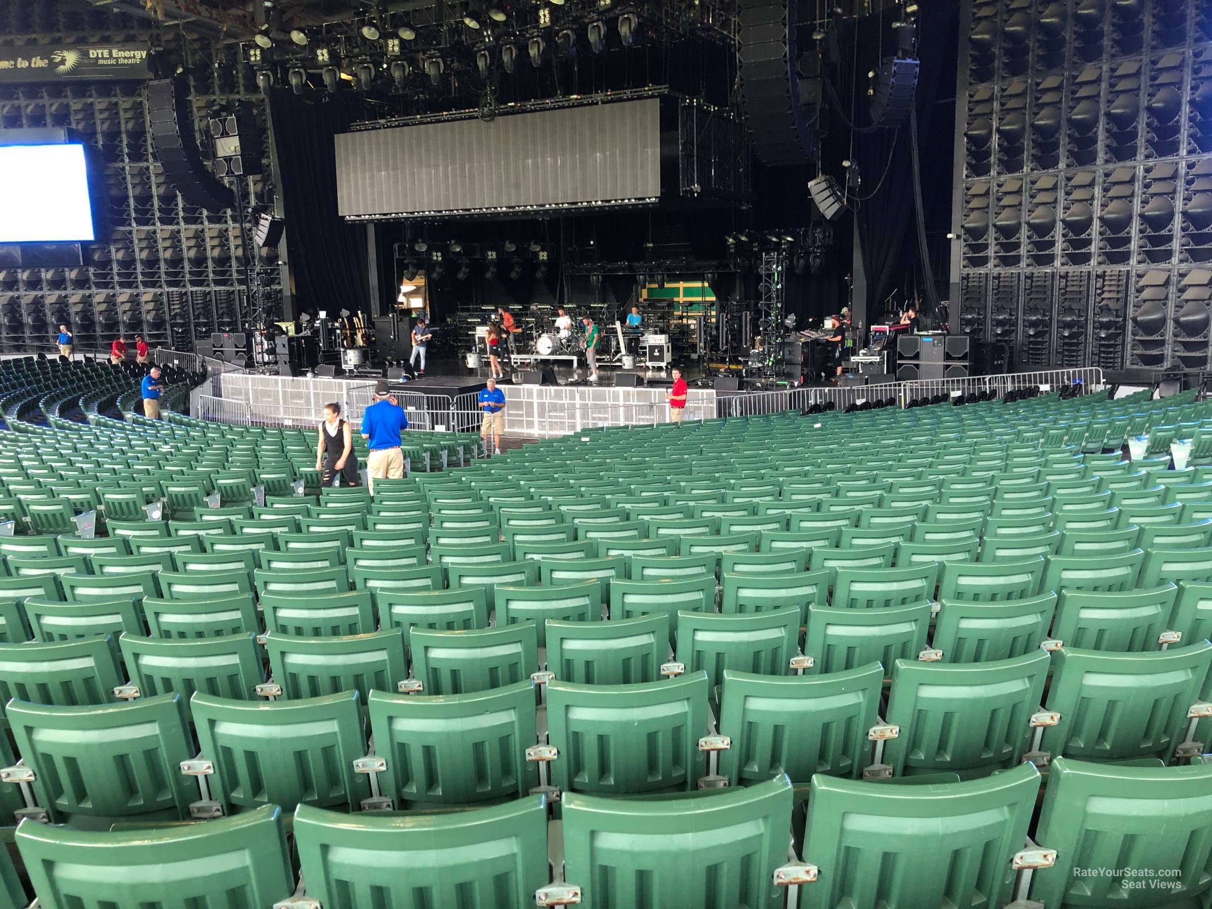 Right Center 5 seat view