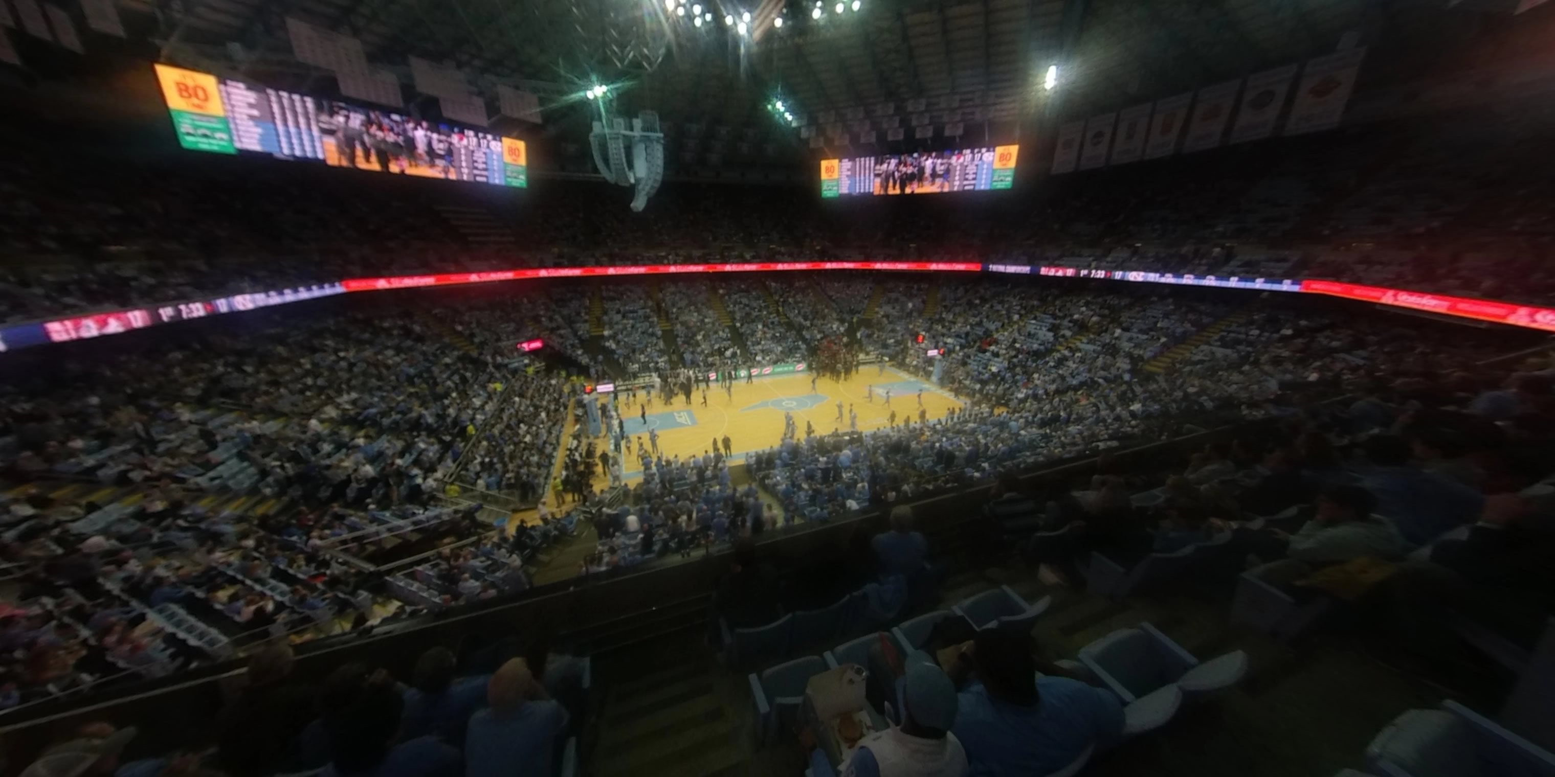 360° Photo From Dean Smith Center Section 224