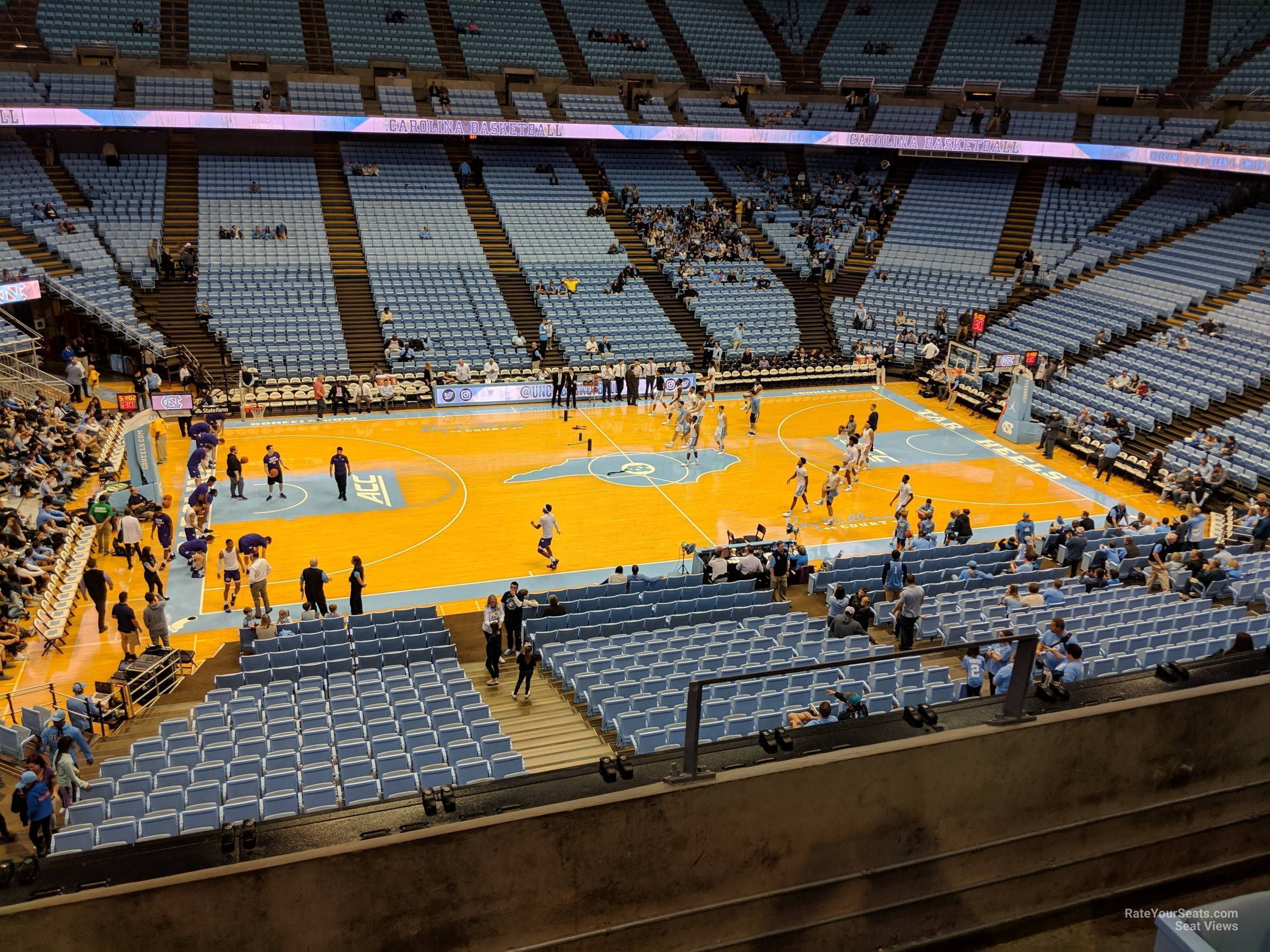 Seat View for Dean Smith Center Section 224, Row C