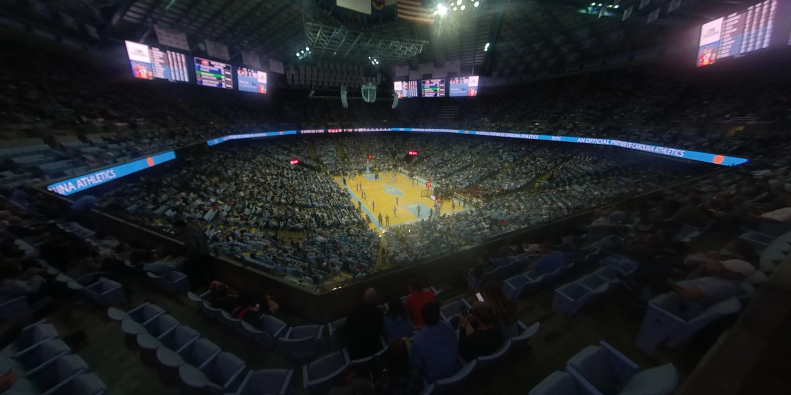 360° Photo From Dean Smith Center Section 232