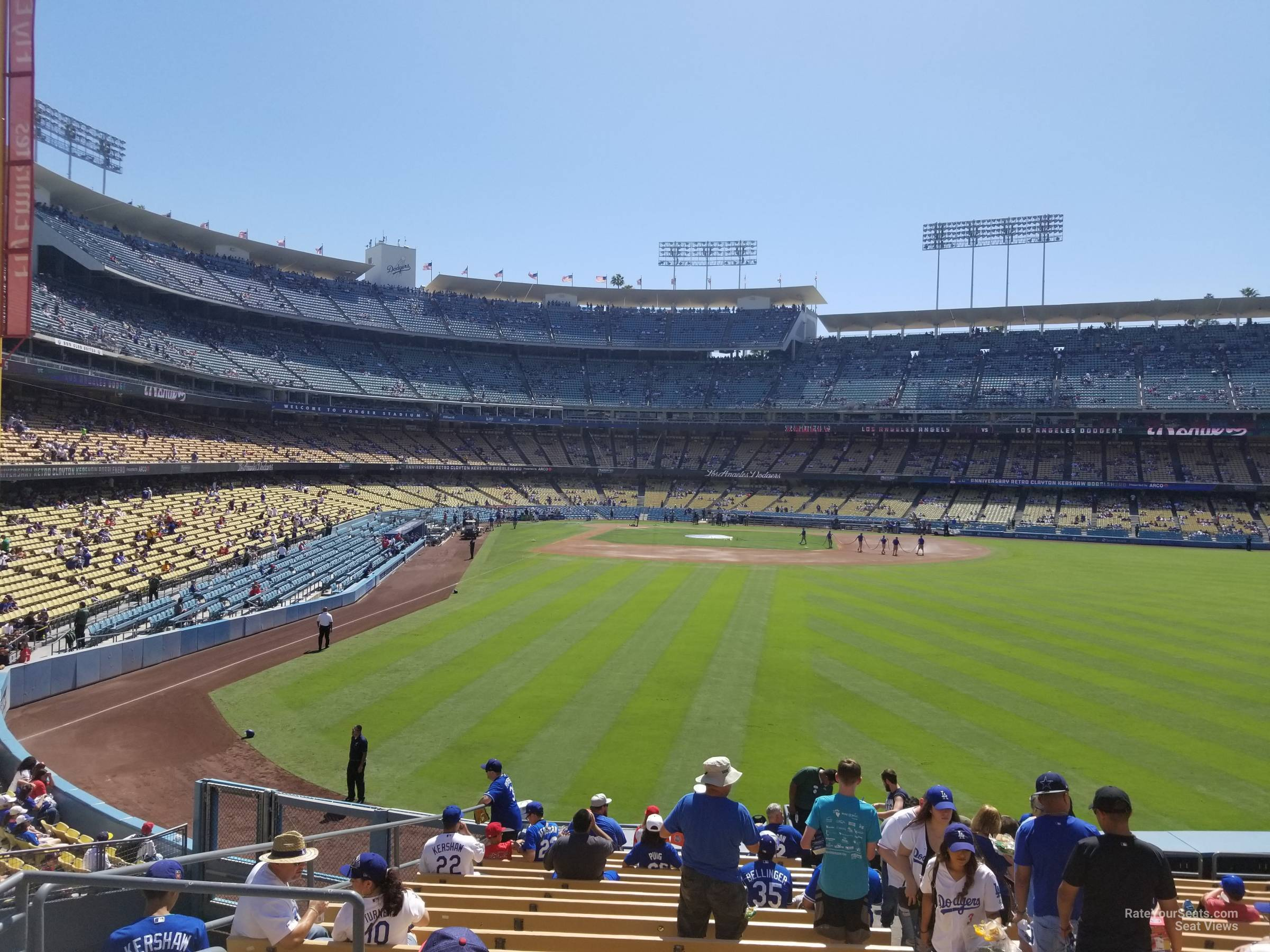 Dodger Stadium Section 302 Rateyourseatscom