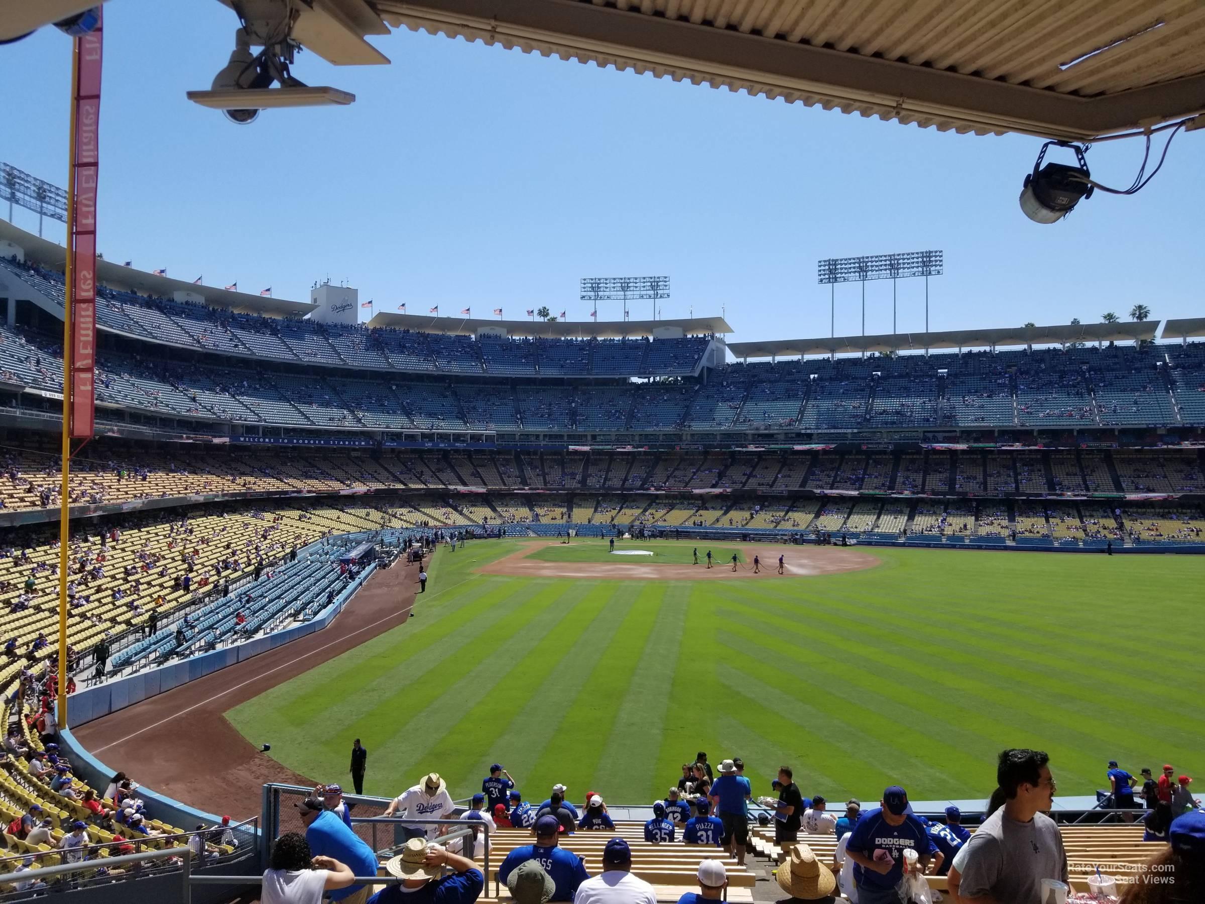 Dodger Stadium Section 302 Rateyourseatscom