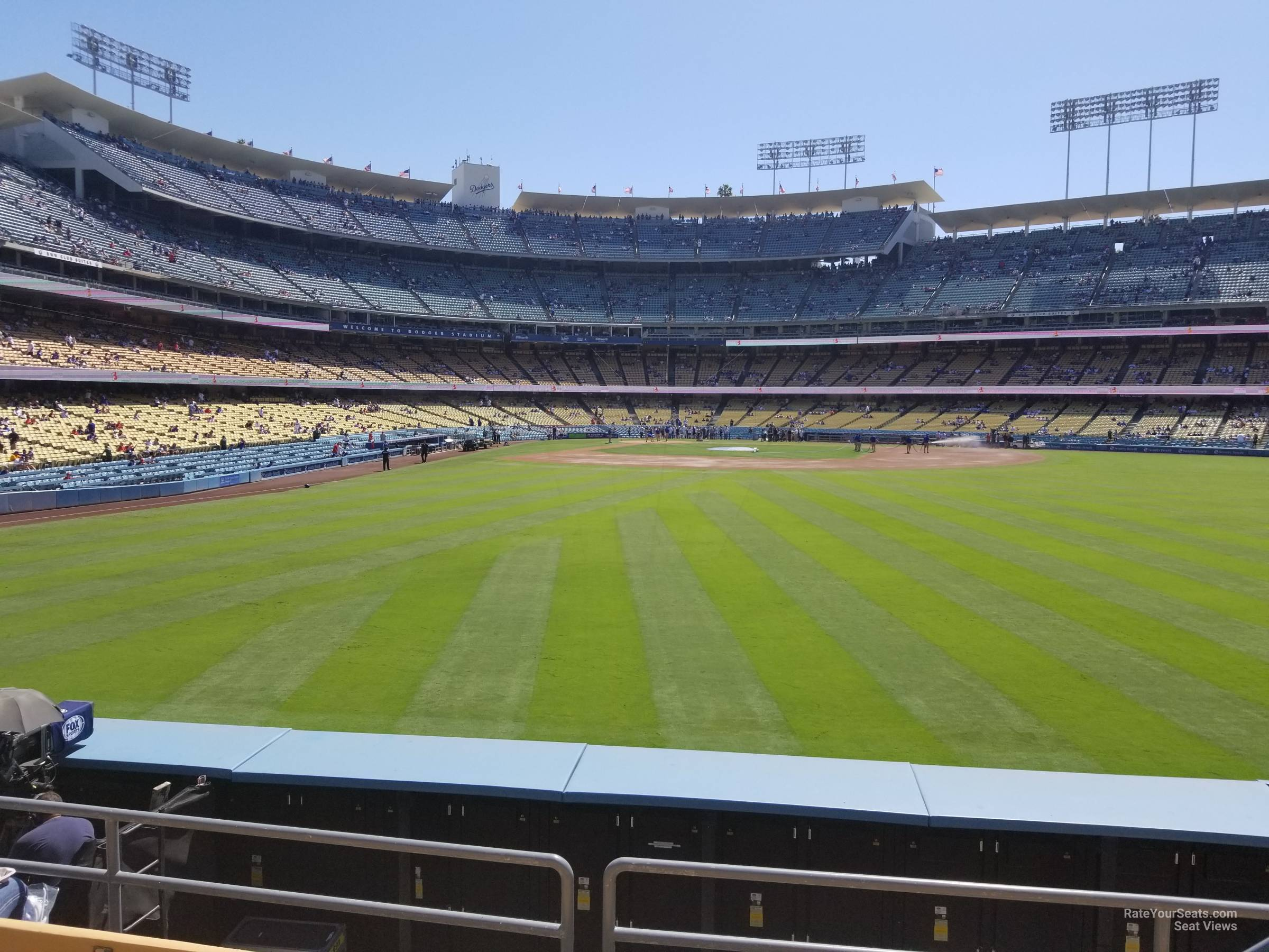 Dodger Stadium Section 306 Rateyourseatscom