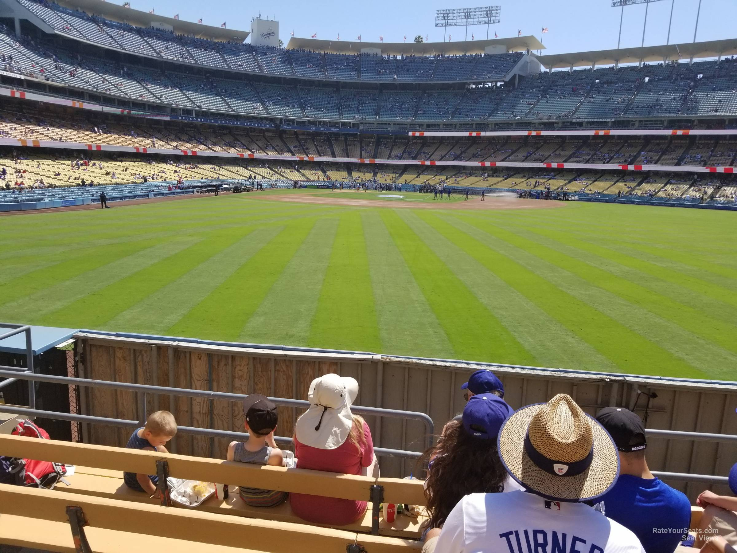 Dodger Stadium Section 308 - RateYourSeats.com on