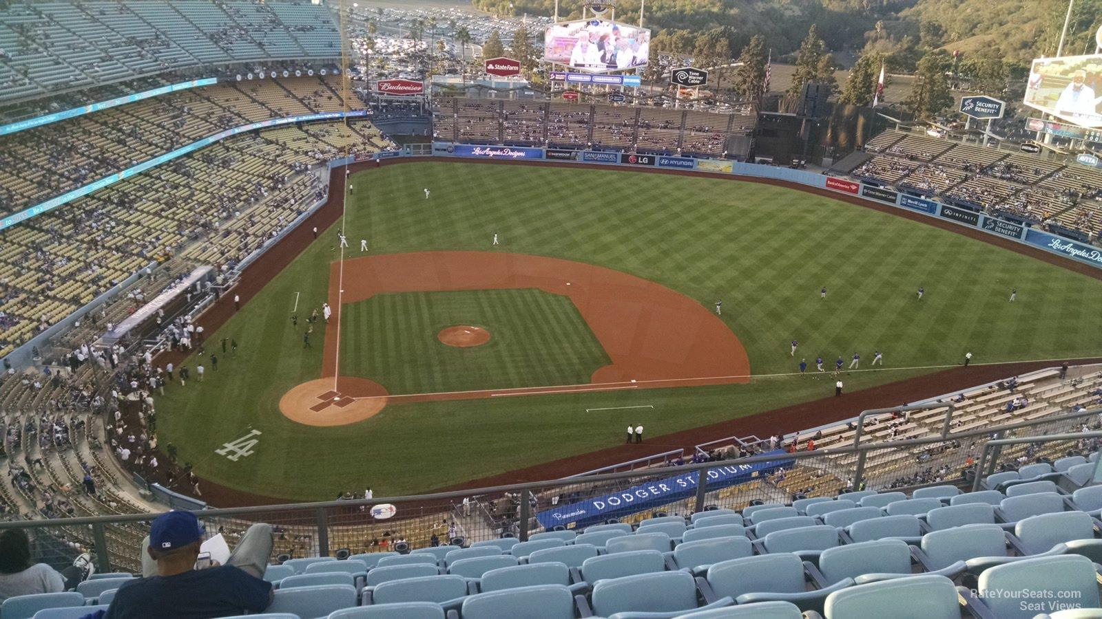 Top Deck - Dodger Stadium Baseball Seating - RateYourSeats.com