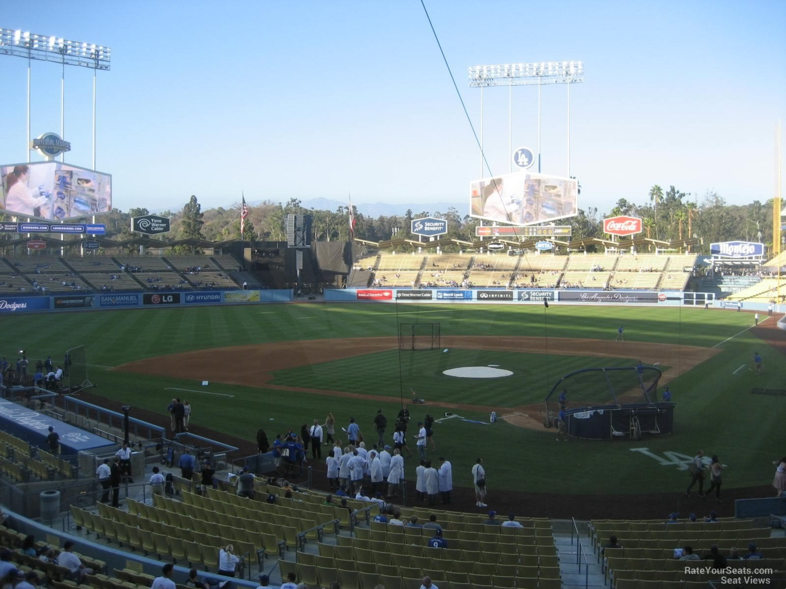 Dodger Stadium Section 111 - RateYourSeats.com