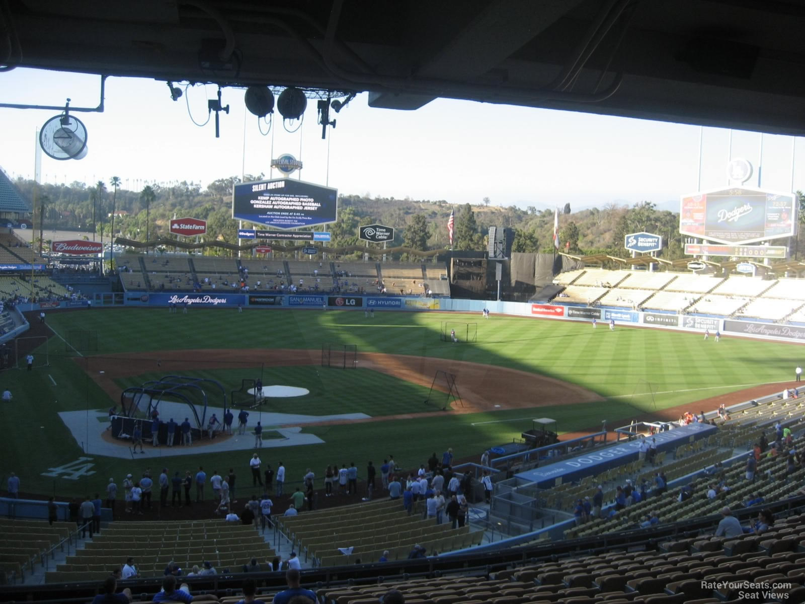 Dodger Stadium Section 114 - RateYourSeats.com