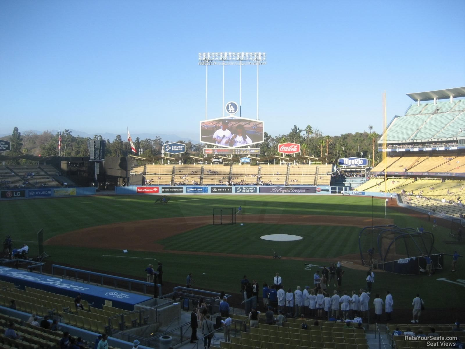 Dodger Stadium Section 119 - RateYourSeats.com
