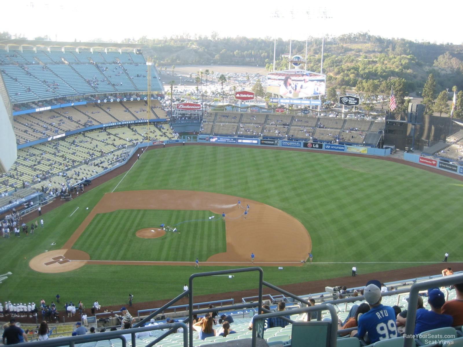 Dodger Stadium Section 120 - RateYourSeats.com