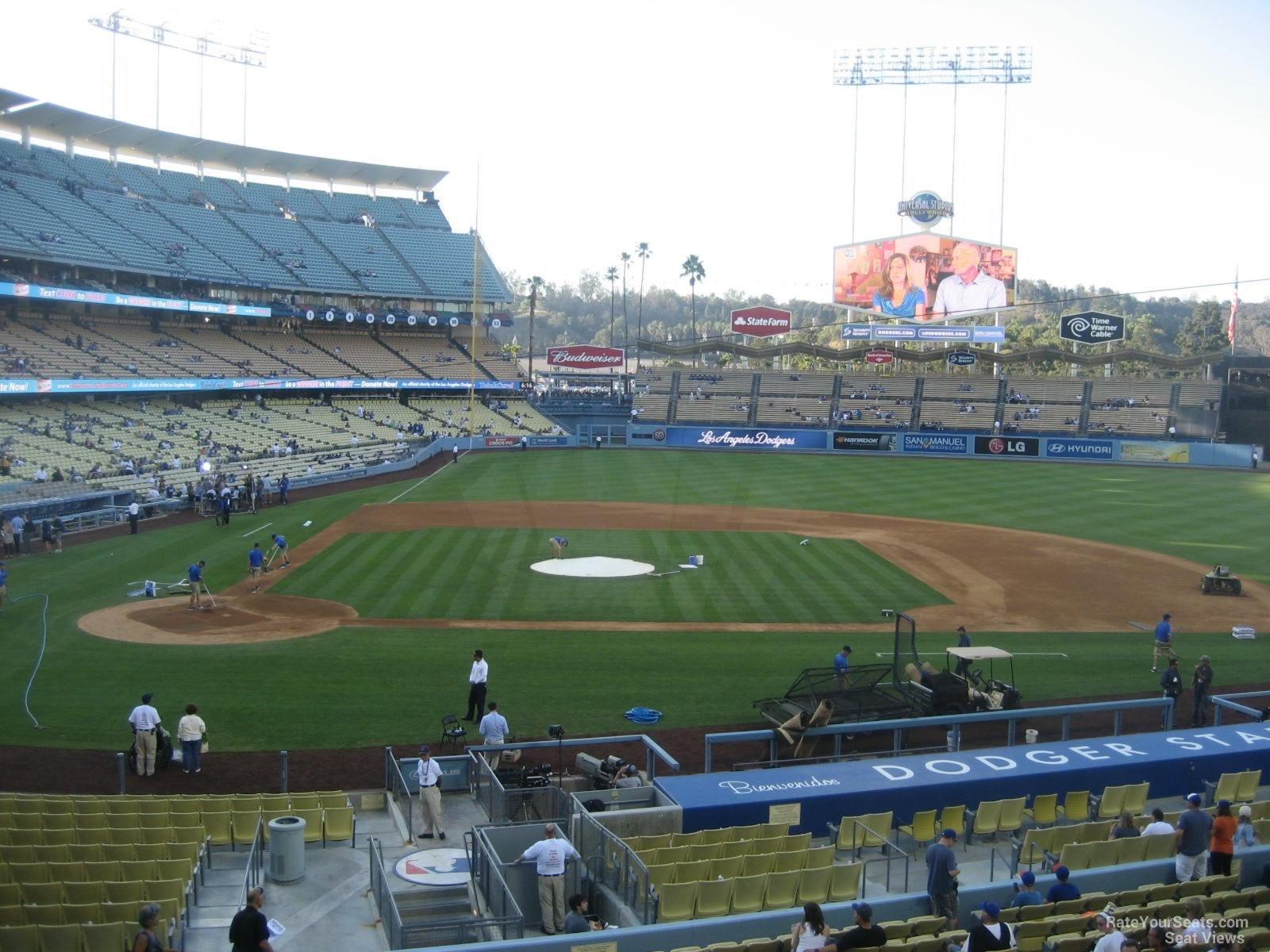 Dodger Stadium Section 126 - RateYourSeats.com