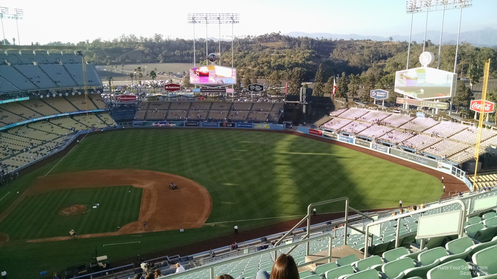 Dodger Stadium Reserve 14 - RateYourSeats.com