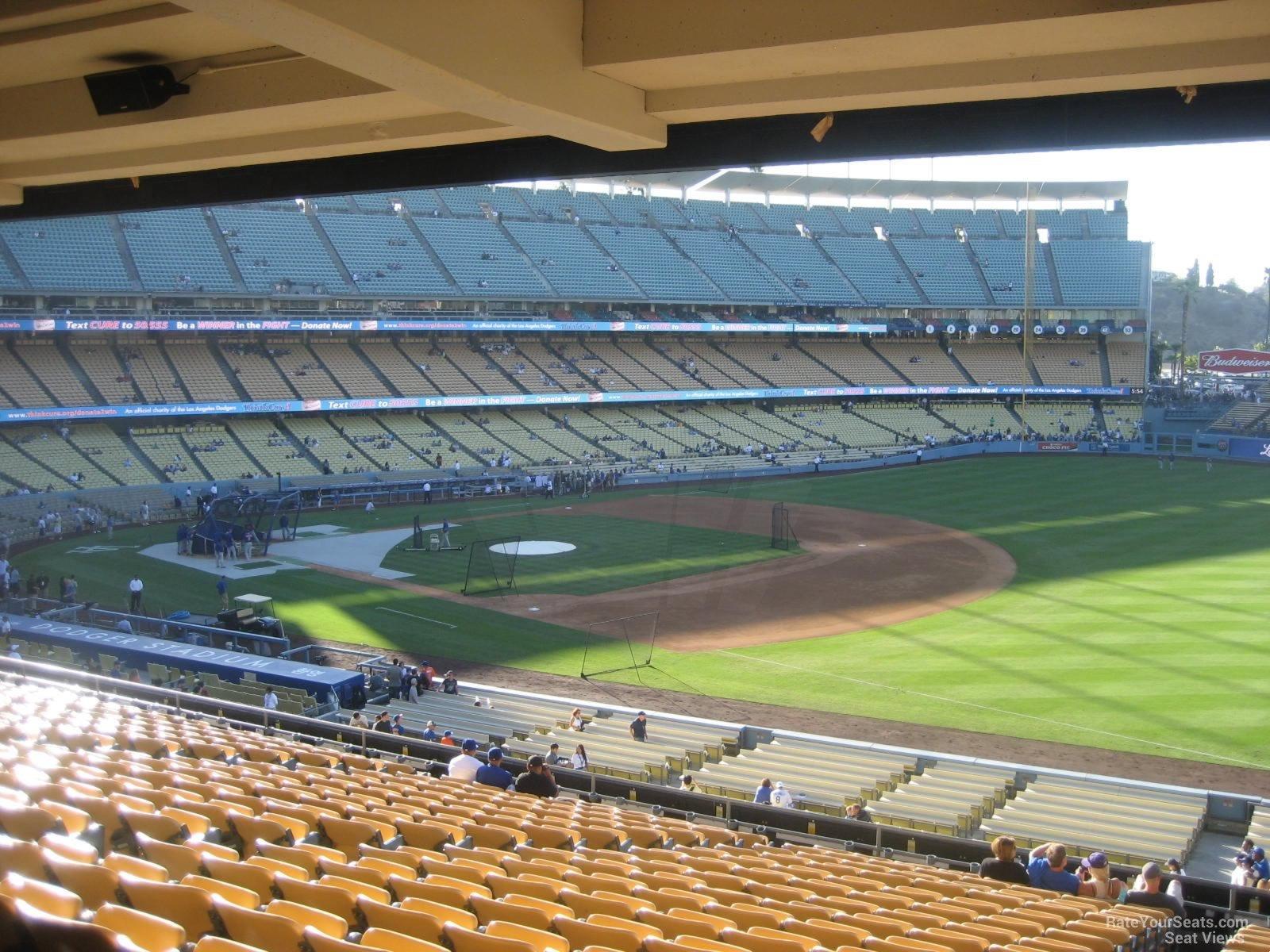 Dodger Stadium Section 150 - RateYourSeats.com