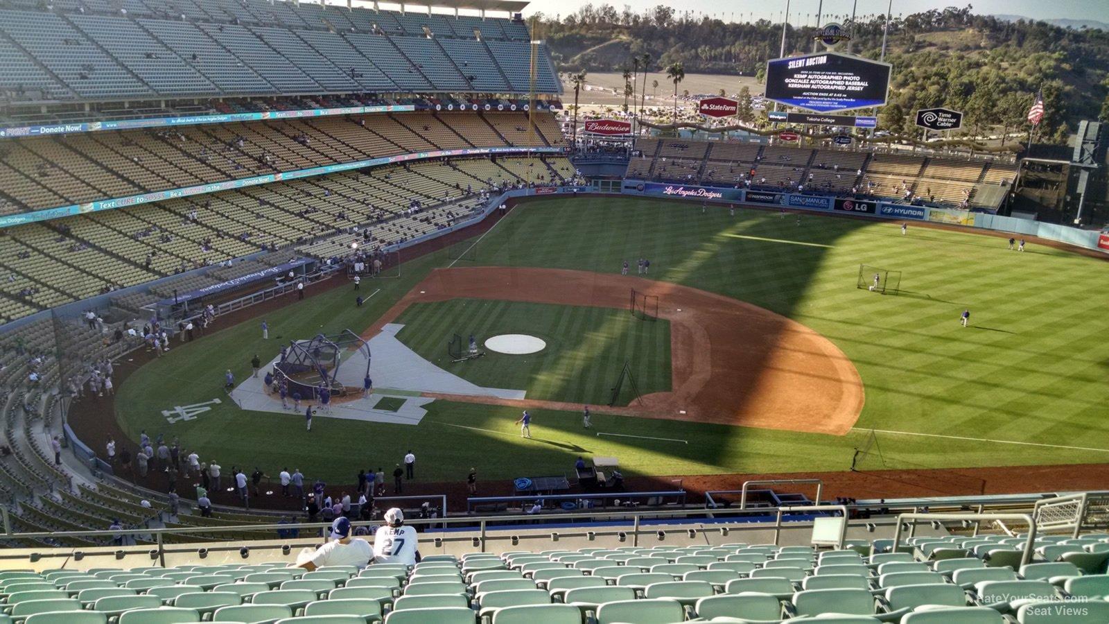Dodger Stadium Infield Reserve 16 - RateYourSeats.com
