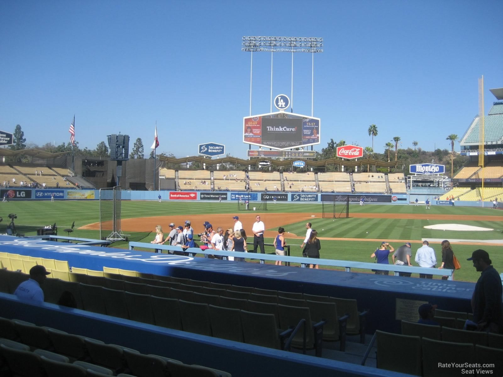 Dodger Stadium Section 17 - RateYourSeats.com
