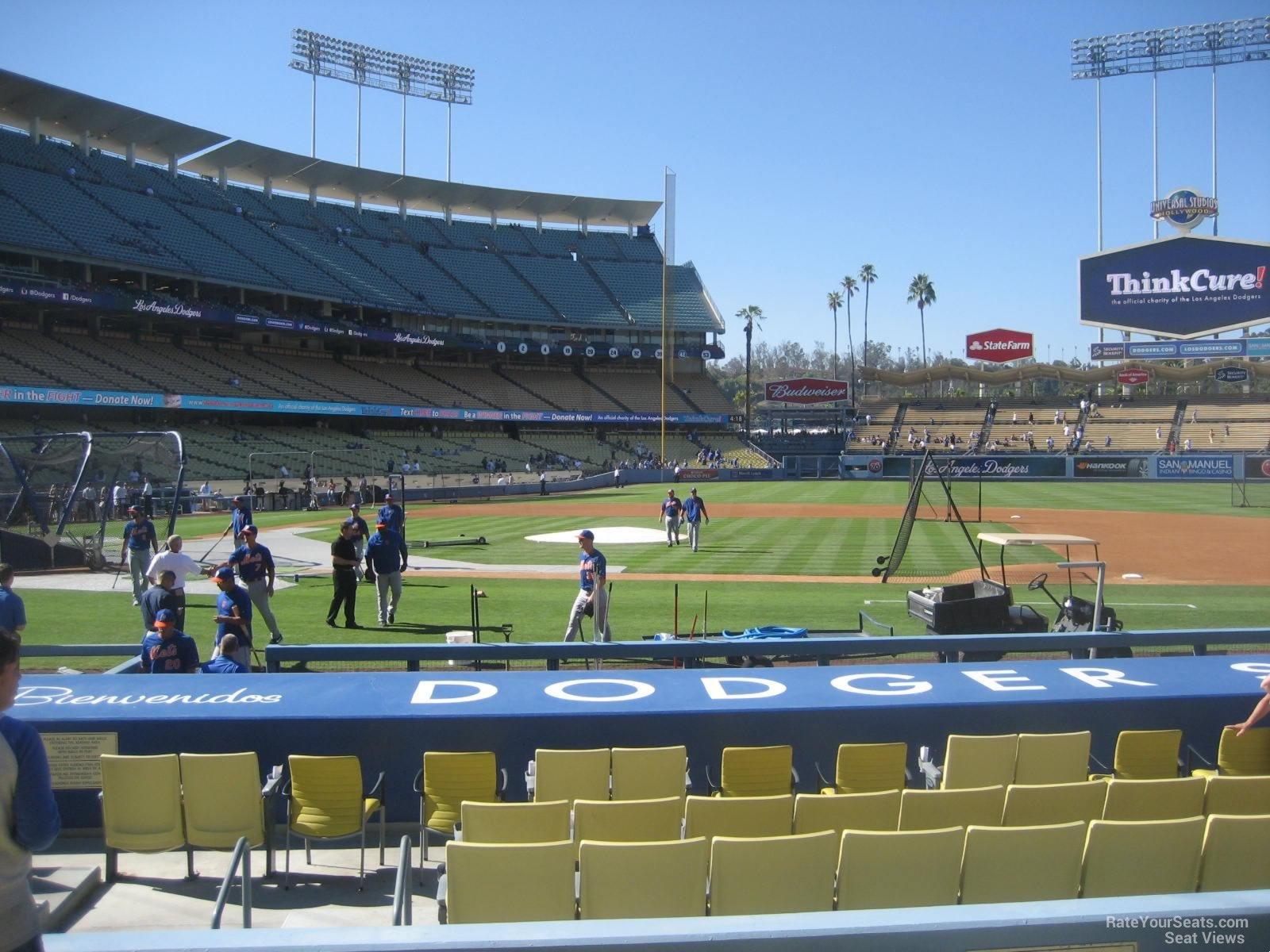 Dodger Stadium Section 18 - RateYourSeats.com
