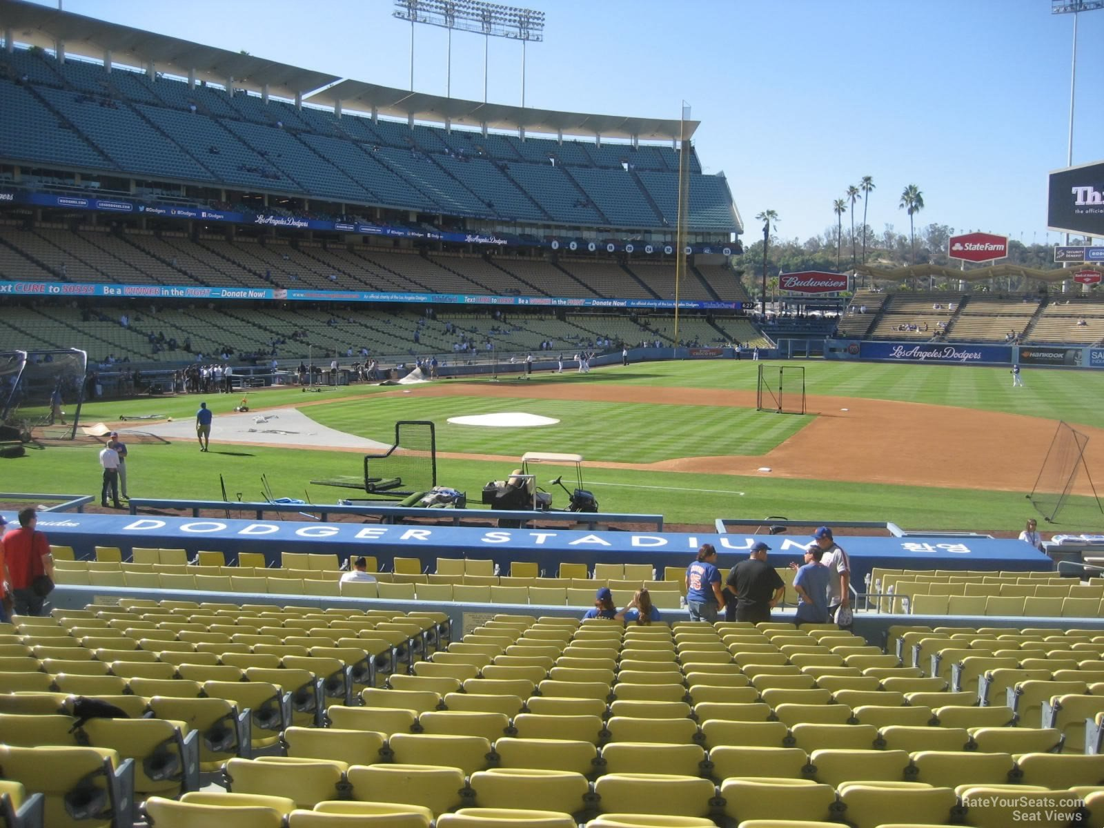 Dodger Stadium Section 22 - RateYourSeats.com