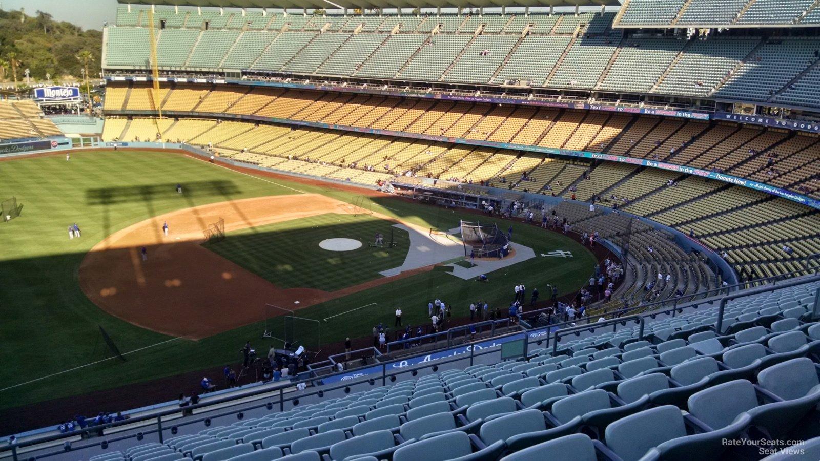 Dodger Stadium Lower Reserve 27 - RateYourSeats.com