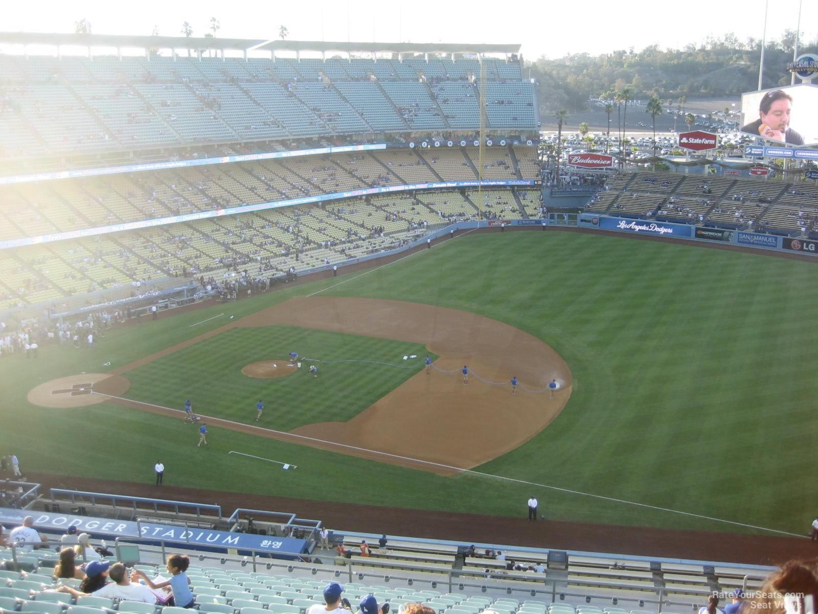 Dodger Stadium Lower Reserve 28 Rateyourseats Com