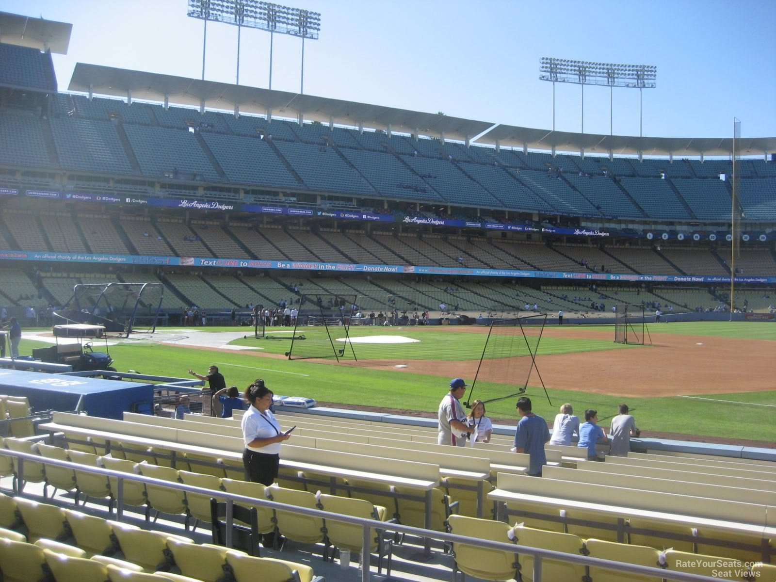 Seat View For Dodger Stadium Section 30