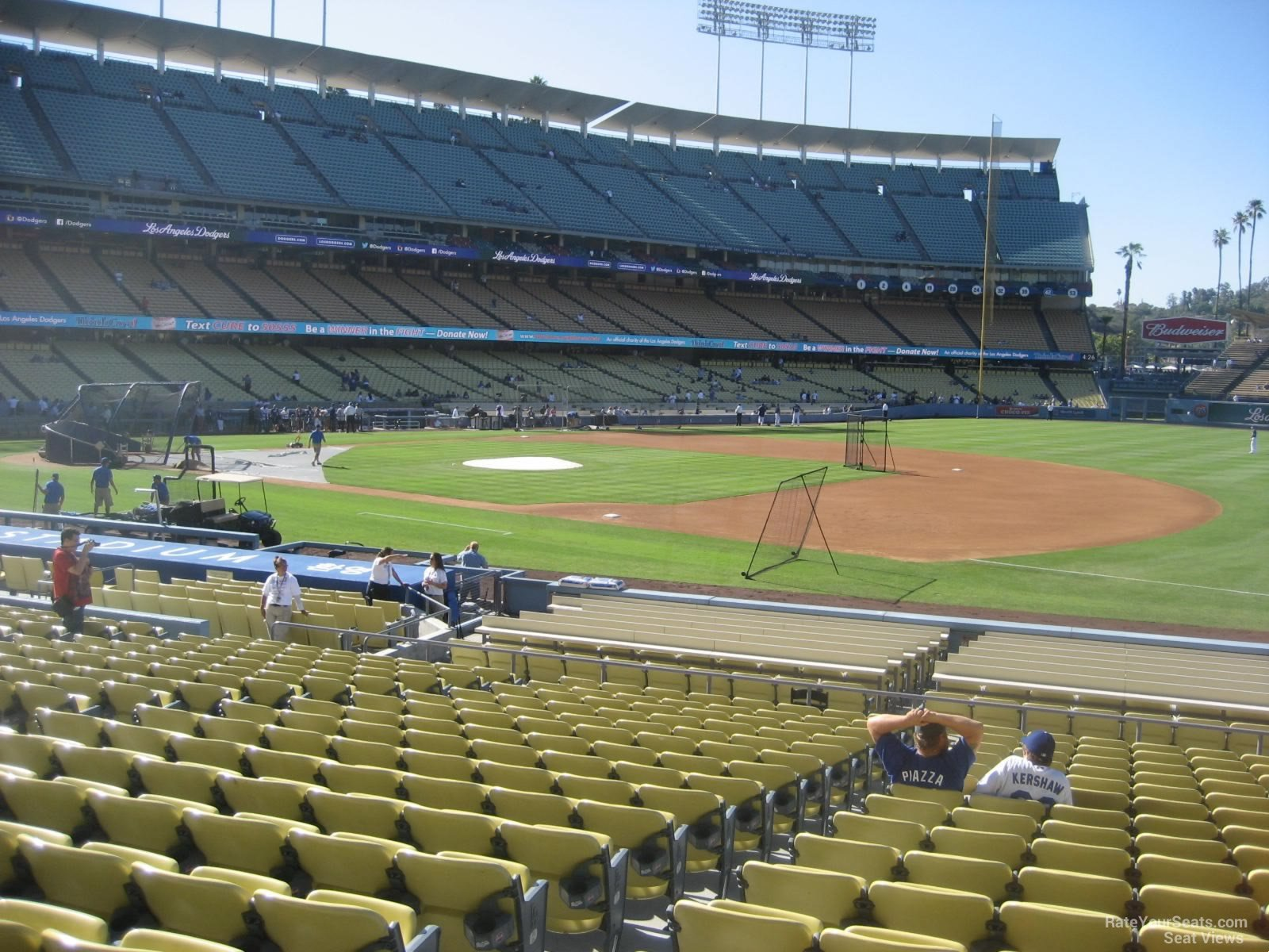 Dodger Stadium Section 30