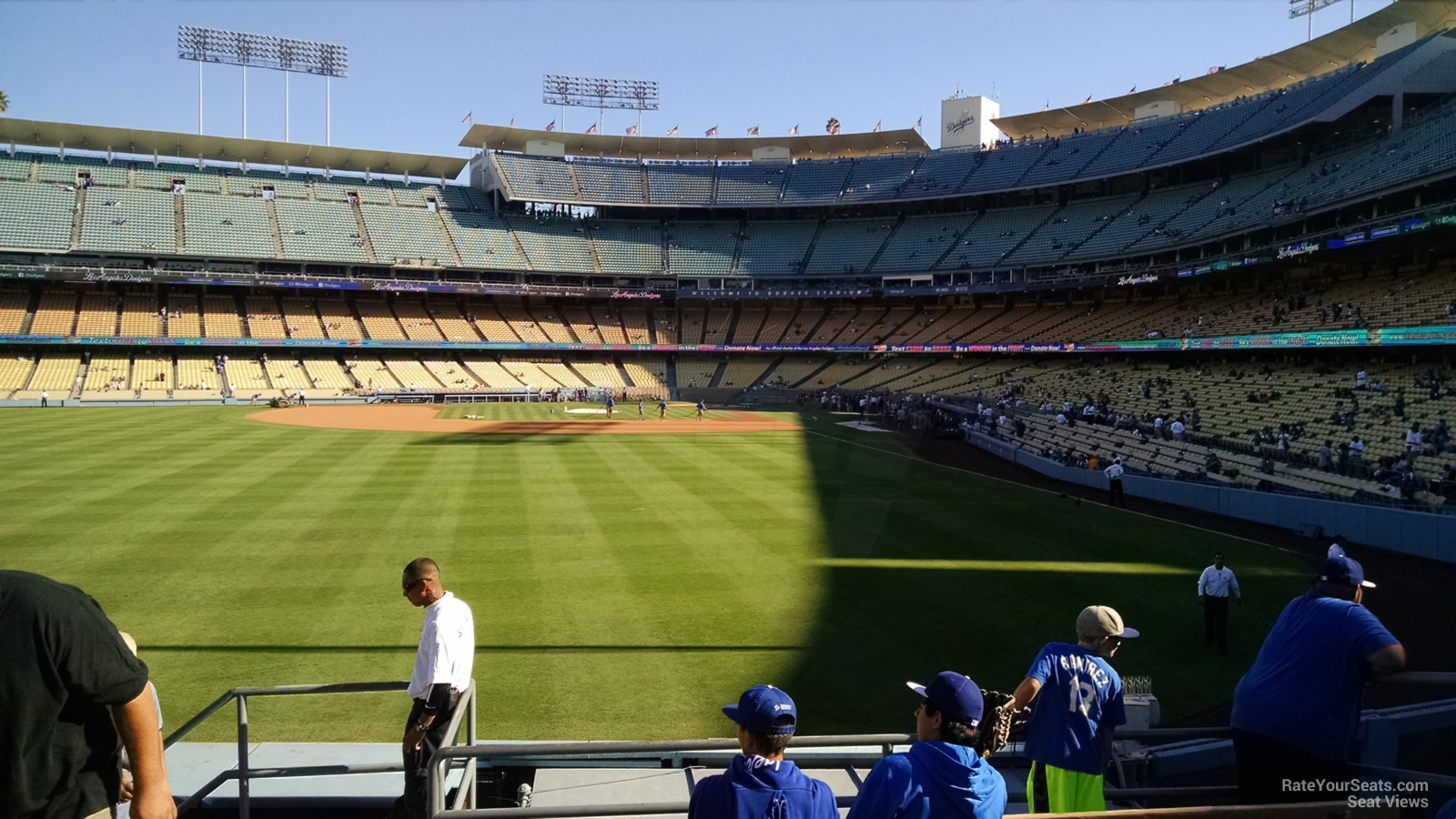dodger stadium section  rateyourseatscom