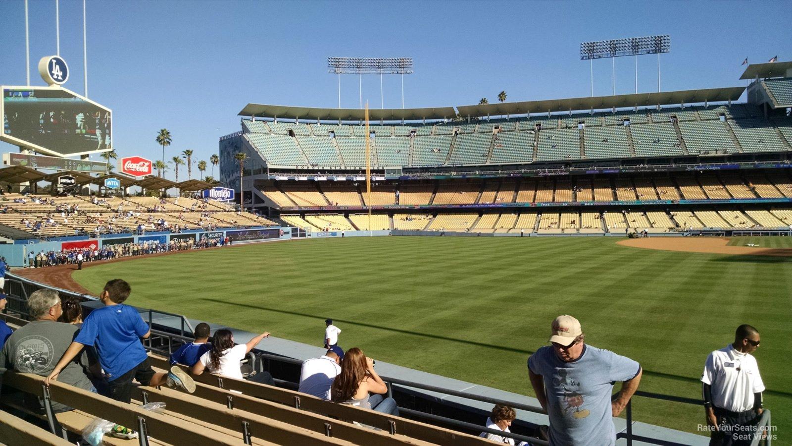 Dodger Stadium Section 301 - RateYourSeats.com