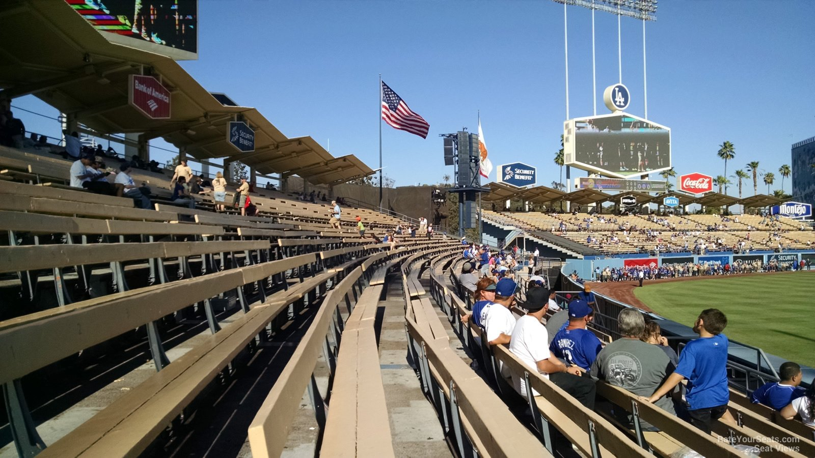 Dodger Stadium Section 301 Rateyourseatscom