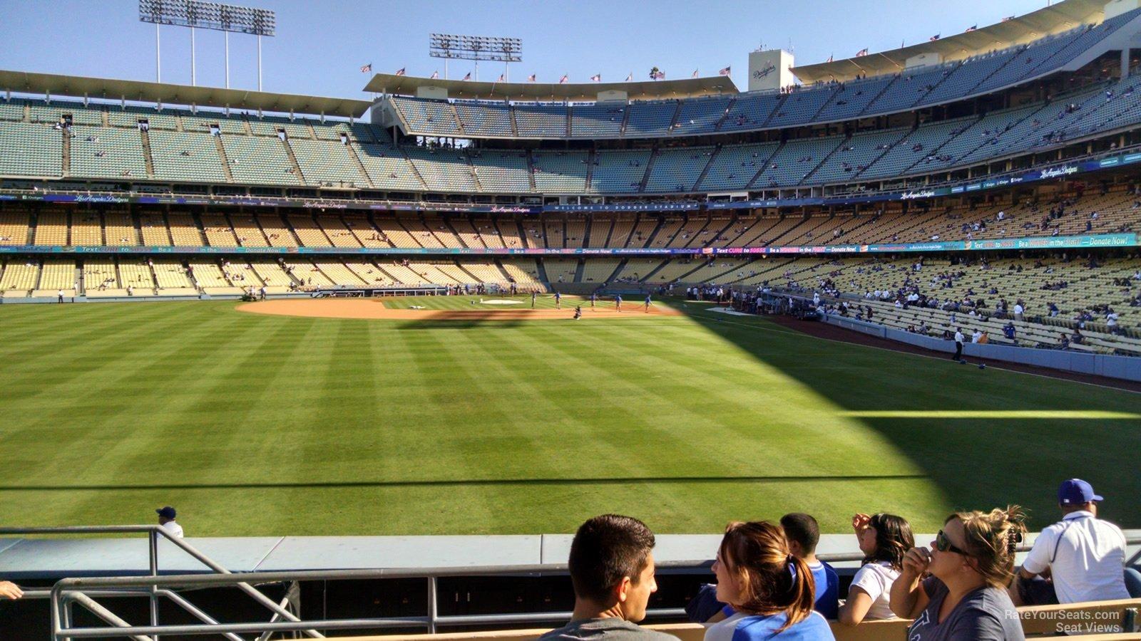 Dodger Stadium Section 303 Rateyourseats Com