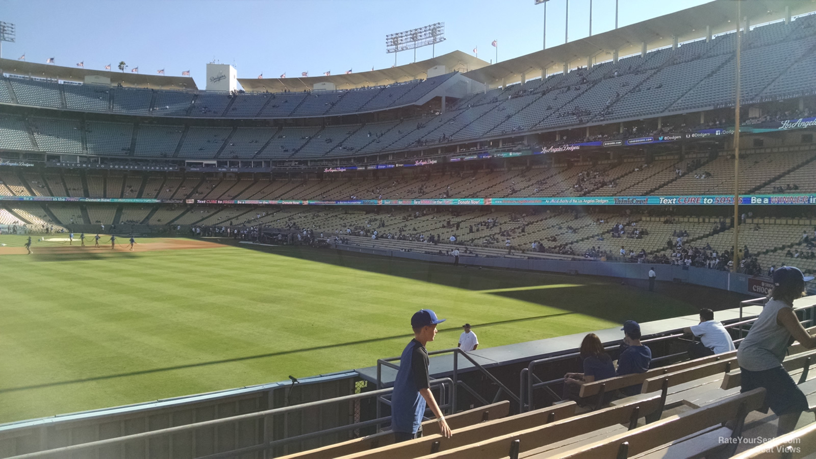 Dodger Stadium Section 307 - RateYourSeats.com