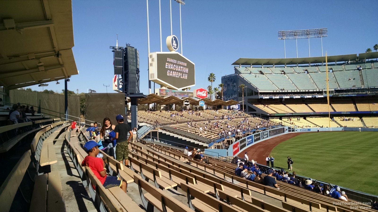 Dodger Stadium Section 309 Rateyourseatscom