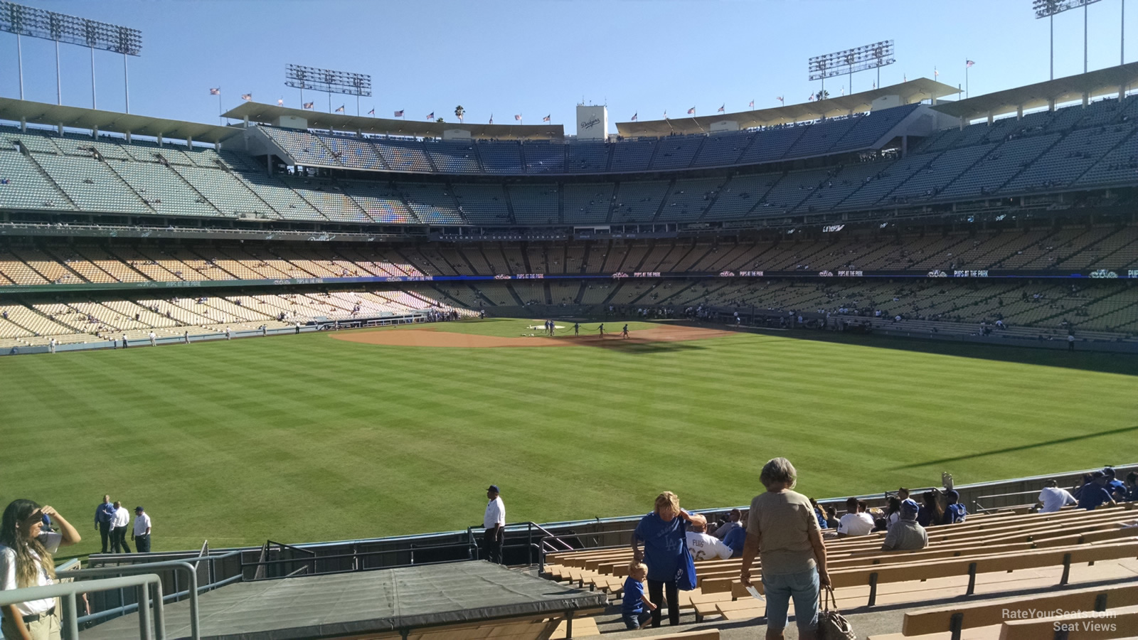 All You Can Eat Section At Dodger Stadium Dodgers Look To