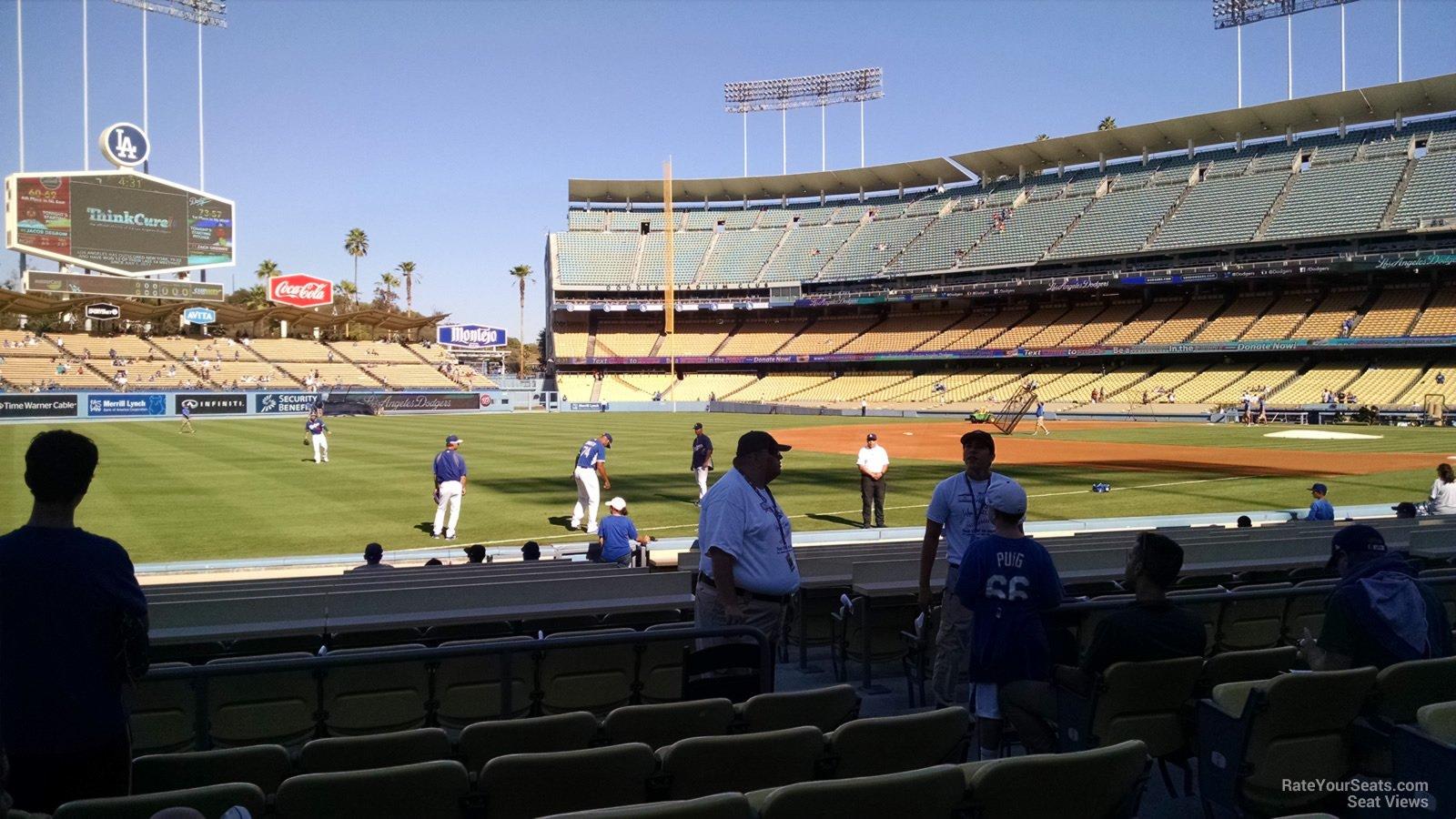 Dodger Stadium Section 39 - RateYourSeats.com