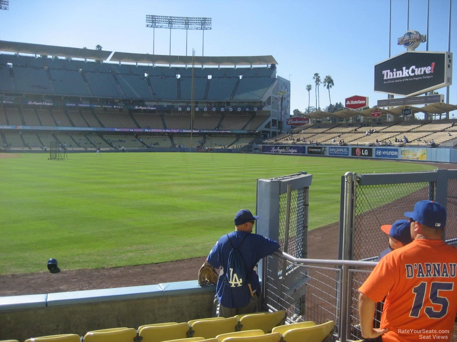 Dodger Stadium Section 52 - RateYourSeats.com