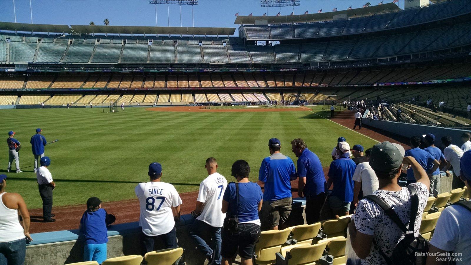 Dodger Stadium Section 53 - RateYourSeats.com