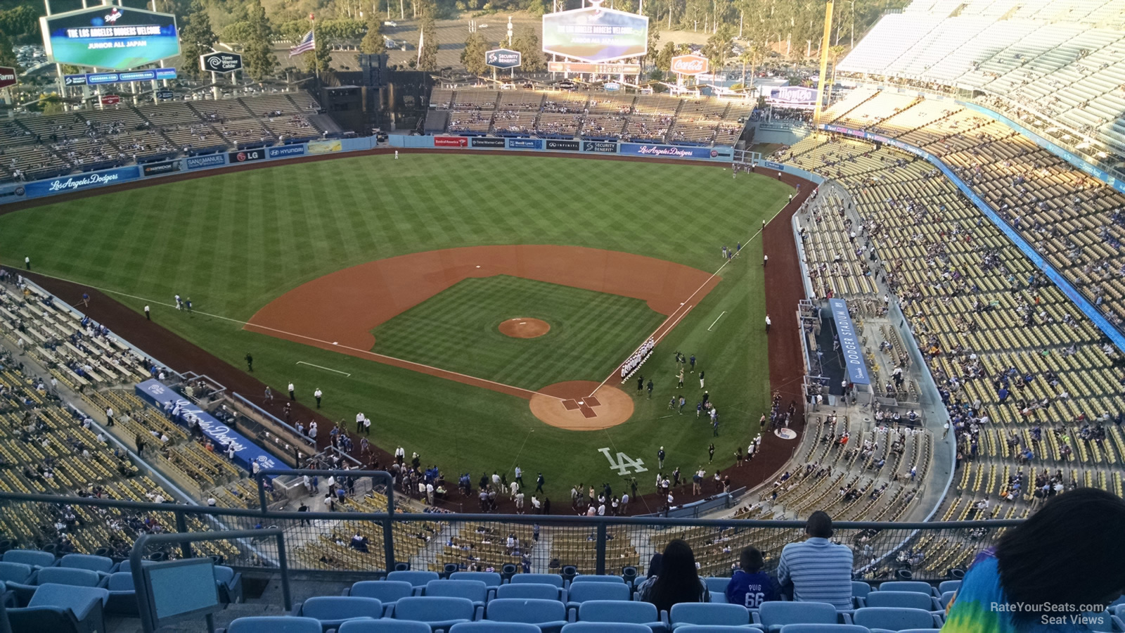 Dodger Stadium Top Deck 5 - RateYourSeats.com