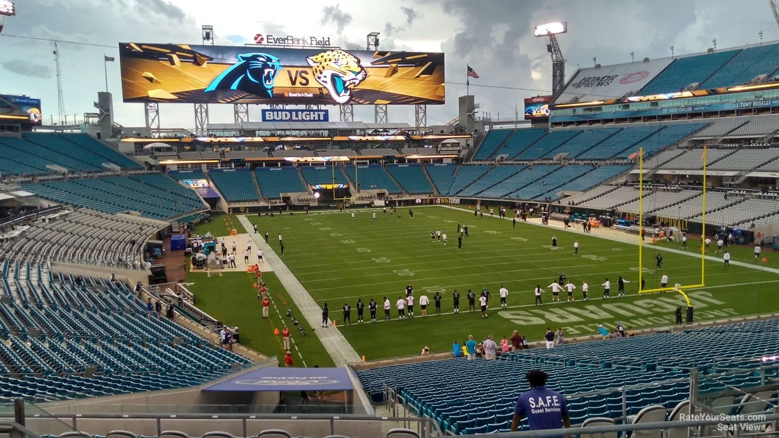 Seat View for TIAA Bank Field Section 226, Row F