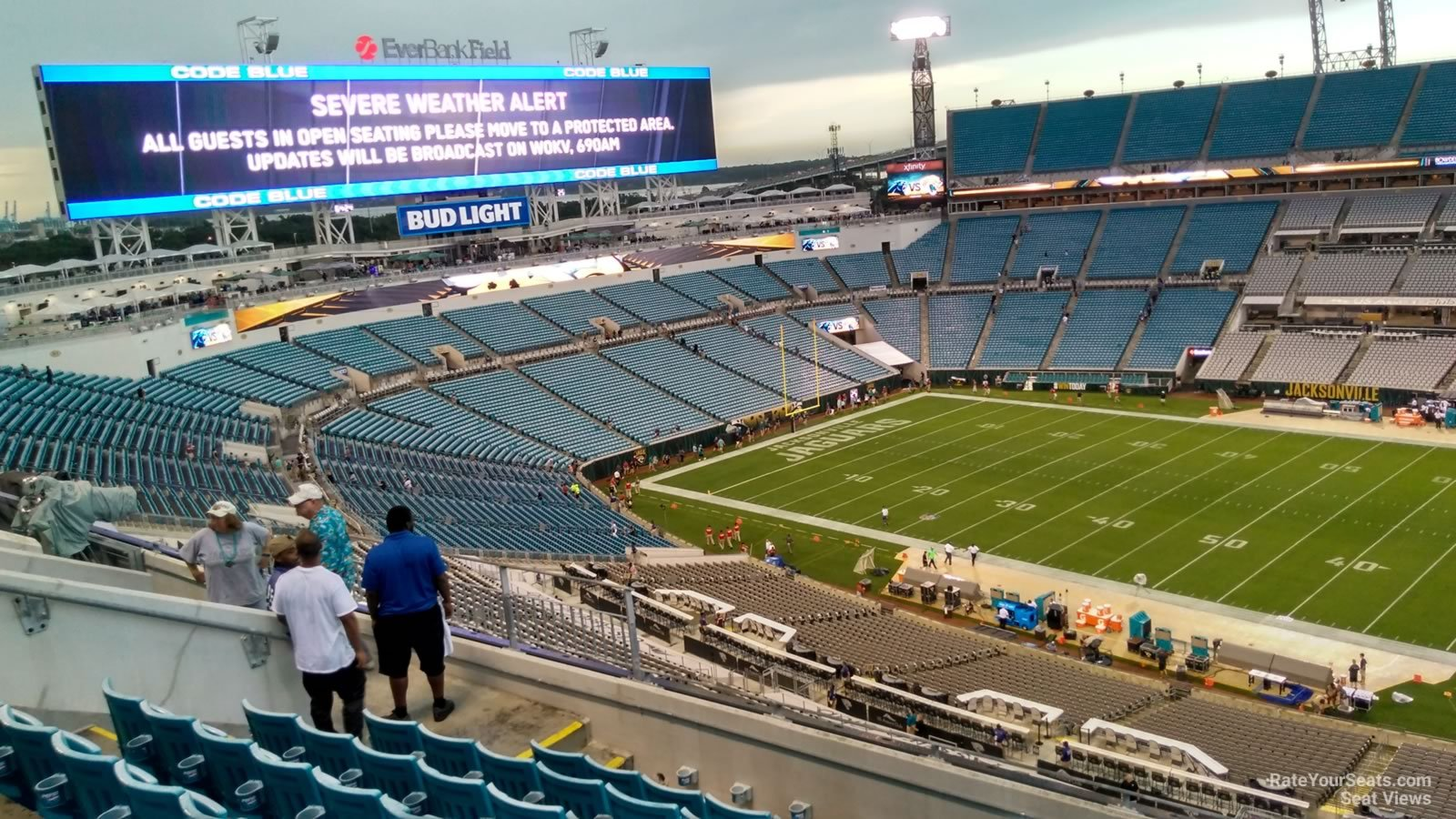 Section 408 seat view