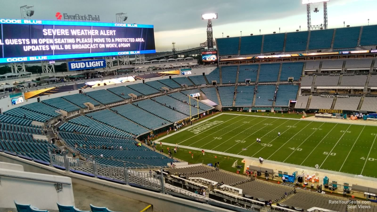 Section 409 seat view