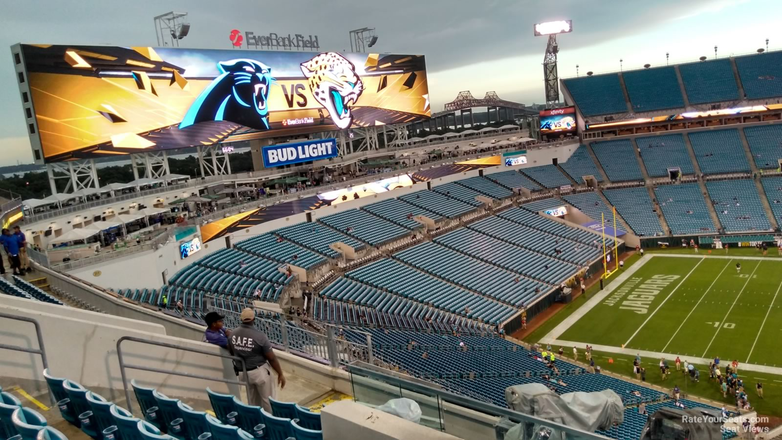 Section 411 seat view