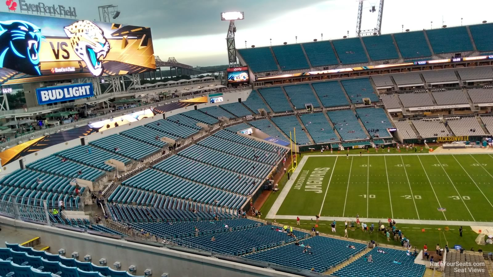 Section 412 seat view
