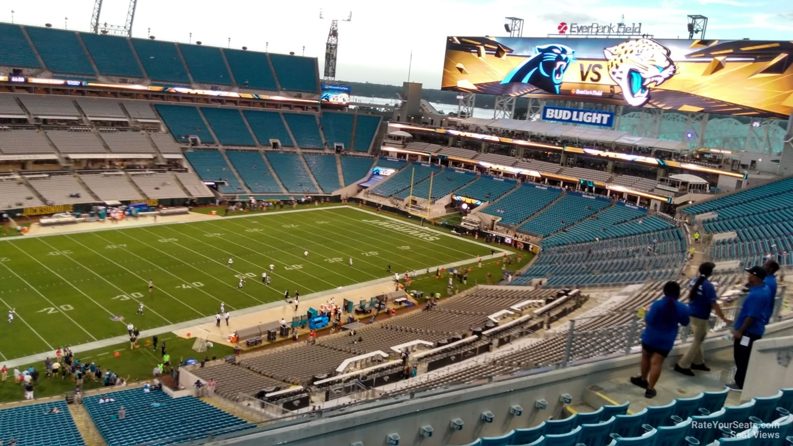 Section 414 seat view