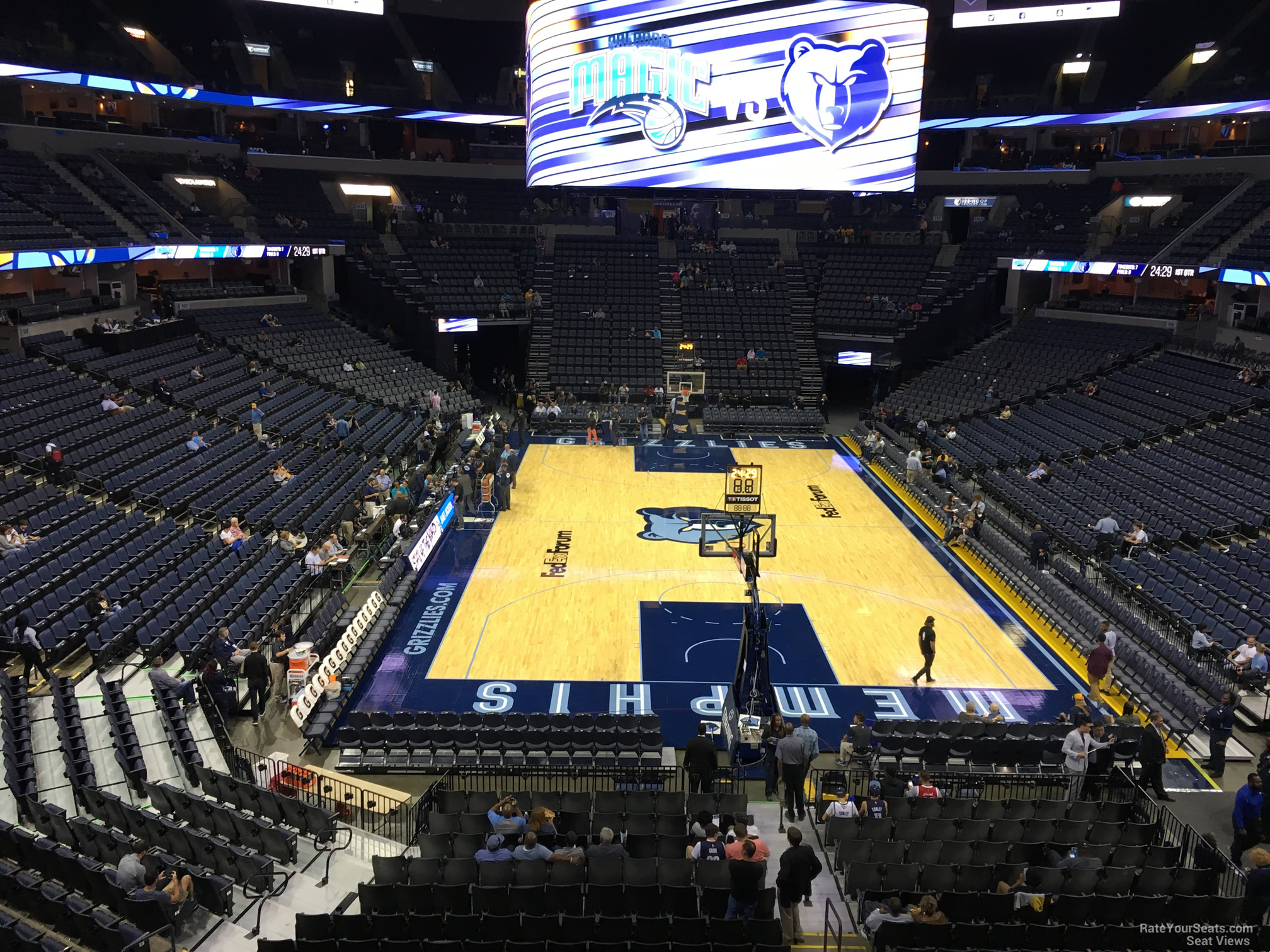 Seat View for FedEx Forum Section 109A