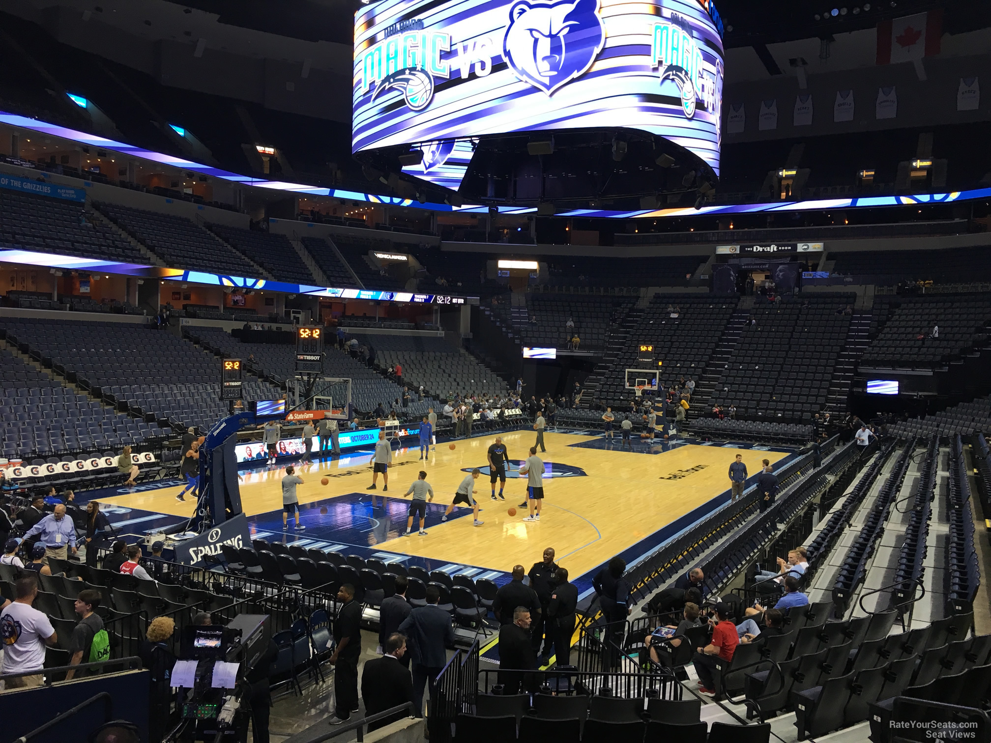 Memphis Grizzlies Stadium Seating Chart Wallseat Co