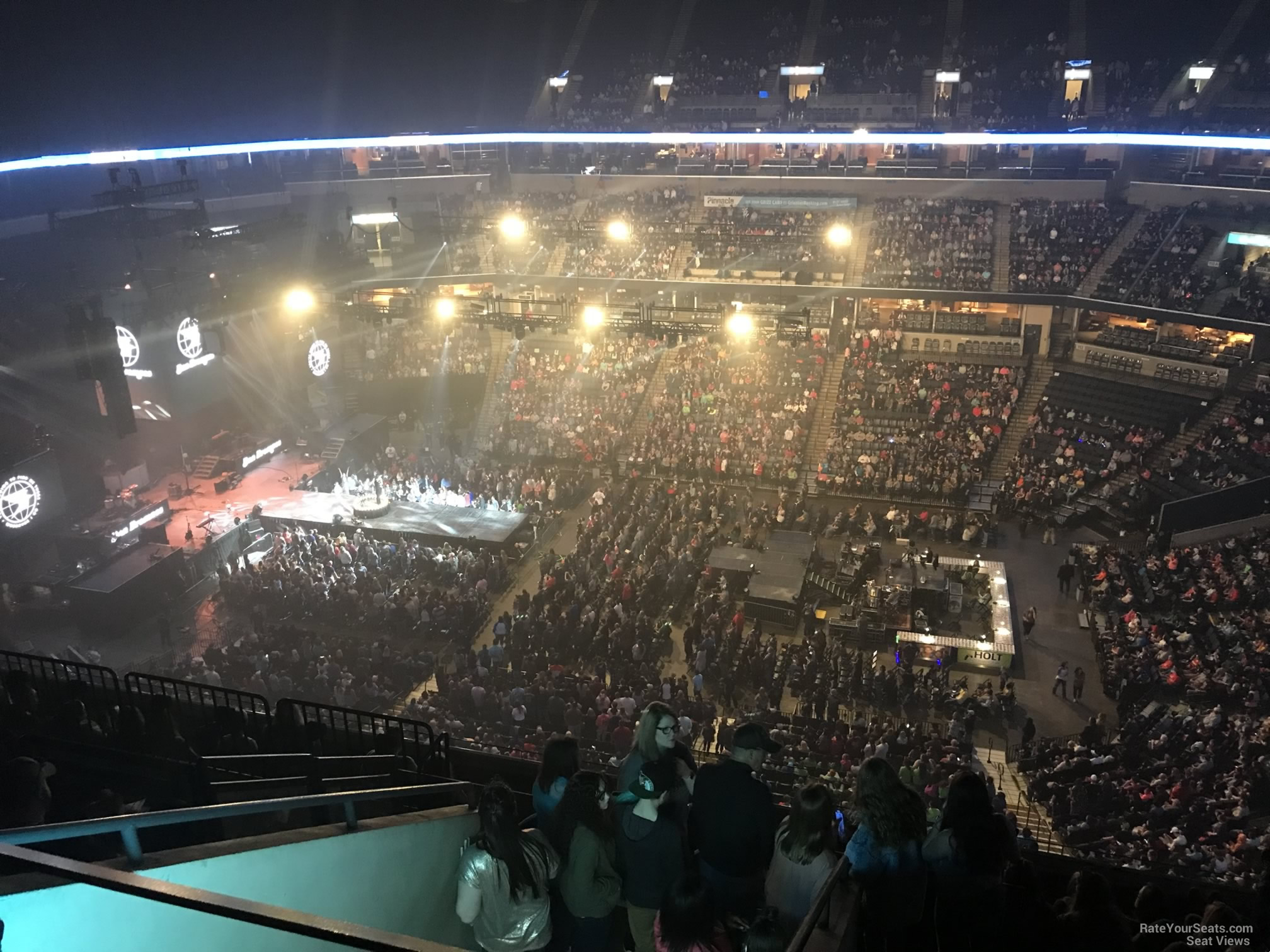 Concert Seat View for FedEx Forum Section 210, Row J