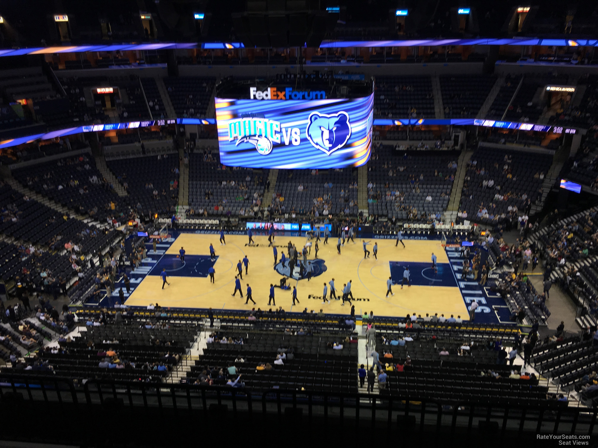 Seat View for FedEx Forum Section 225, Row F