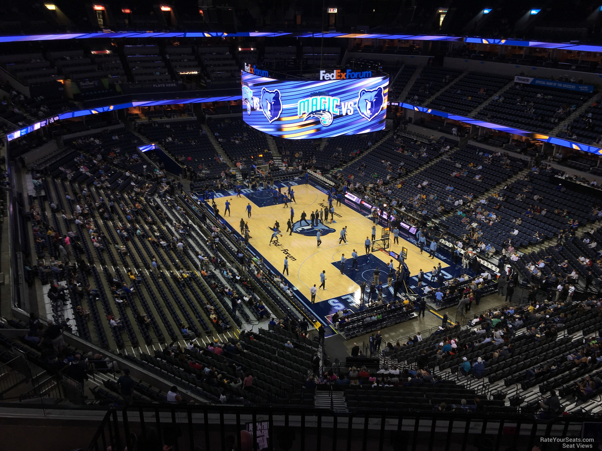 Seat View for FedEx Forum Section 230, Row F
