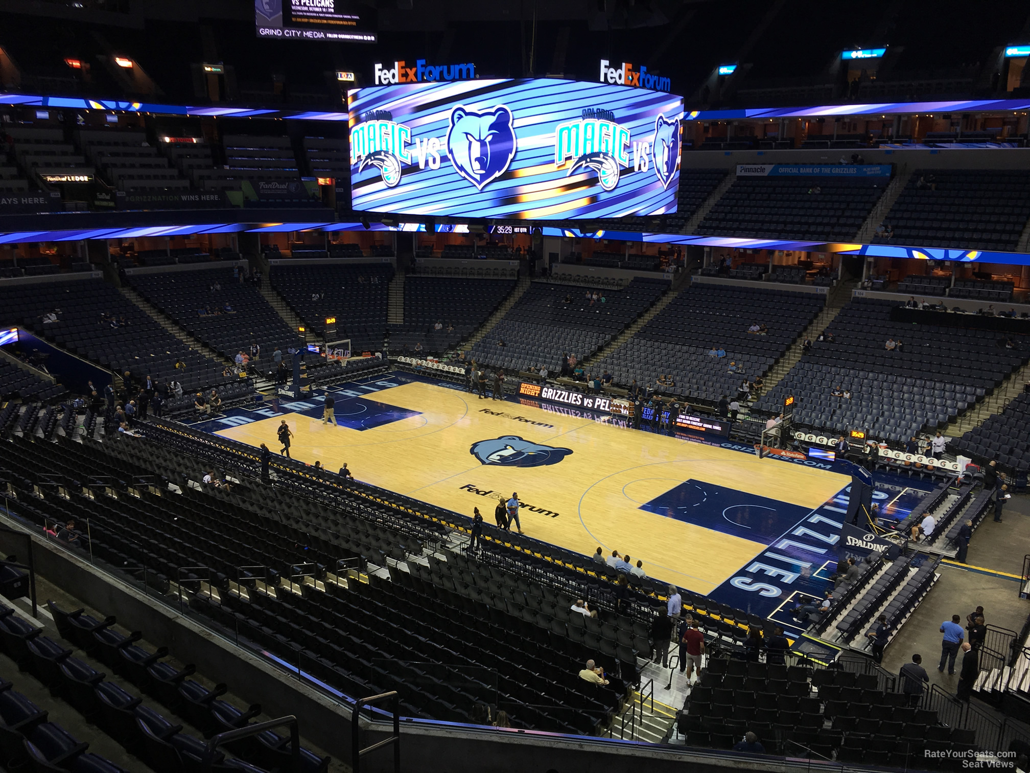 Fedexforum Seating Chart Memphis Tigers Elcho Table
